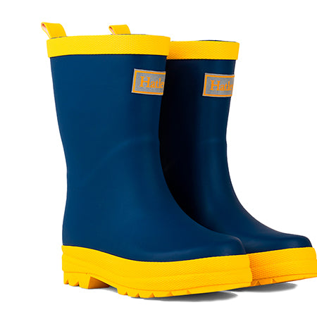 Hatley Navy Wellies