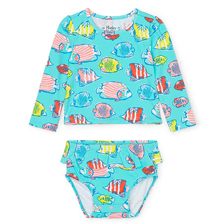 Hatley Colourful Fish Rashguard Set