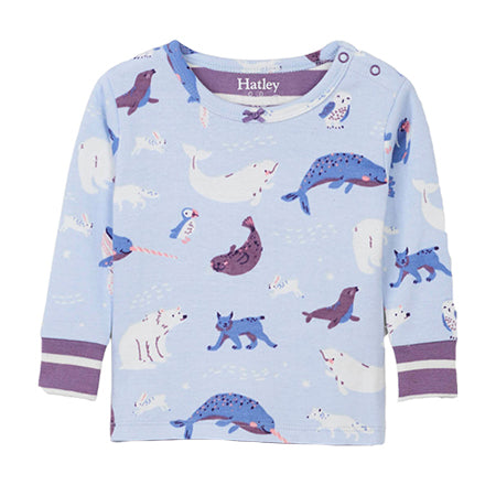 Artic Animal Pyjama Top