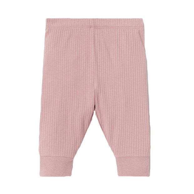 Rose Ribbed Pyjama Bottoms