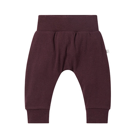 Berry Ribbed Joggers