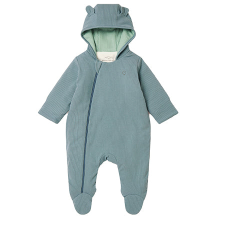 MORI Sky Ribbed Snugsuit