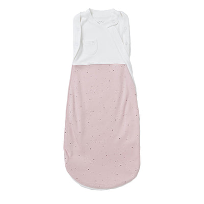 MORI Pink Stardust Newborn Swaddle Bag