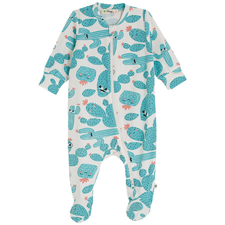 Cactus Zip-Up Sleepsuit