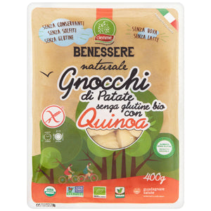 FREE FROM ORGANIC GNOCCHI WITH QUINOA 400g