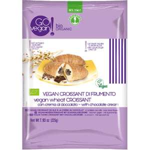 VEGAN ORGANIC CROISSANTS WITH CHOCOLATE CREAM 5 x 45g