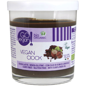 FREE FROM VEGAN ORGANIC HAZELNUT CHOCOLATE SPREAD 200g