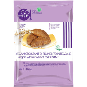 VEGAN ORGANIC WHOLE WHEAT CROISSANTS 5 x 35g