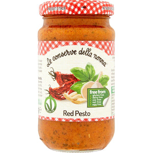 FREE FROM VEGAN RED SUNDRIED TOMATO PESTO 185g