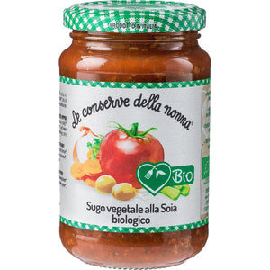 FREE FROM ORGANIC VEGETABLE SOYA BOLOGNESE SAUCE 350g