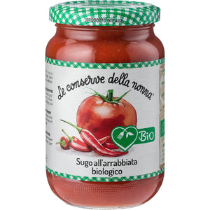 FREE FROM ORGANIC CHILLI ARRABBIATA SAUCE 350g