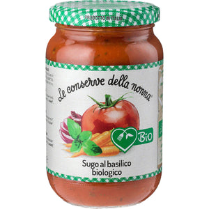 FREE FROM ORGANIC TOMATO AND BASIL SAUCE 350g