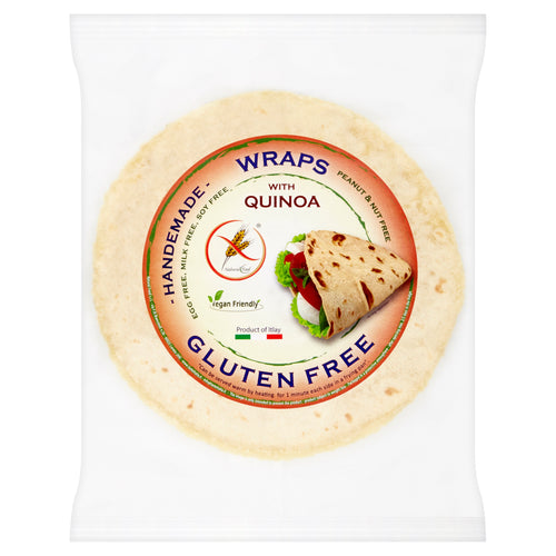 FREE FROM WRAP WITH QUINOA 2 x 80g
