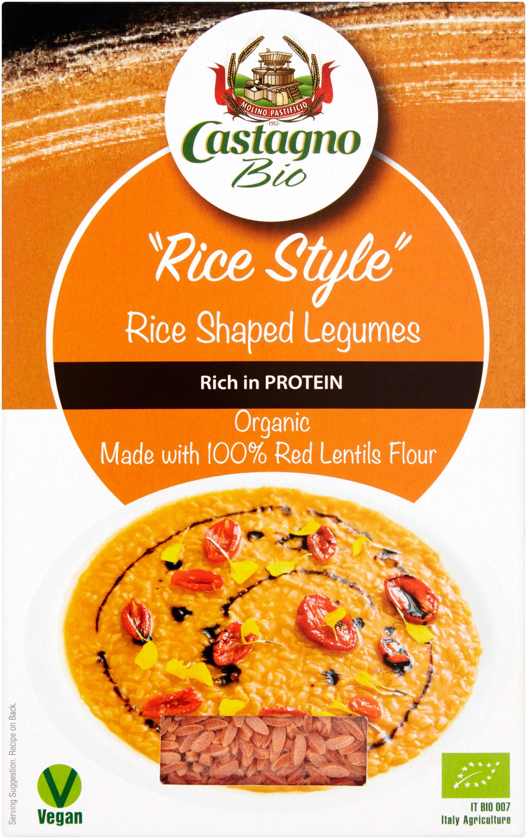 'RICE STYLE' 100% RED LENTILS 250g
