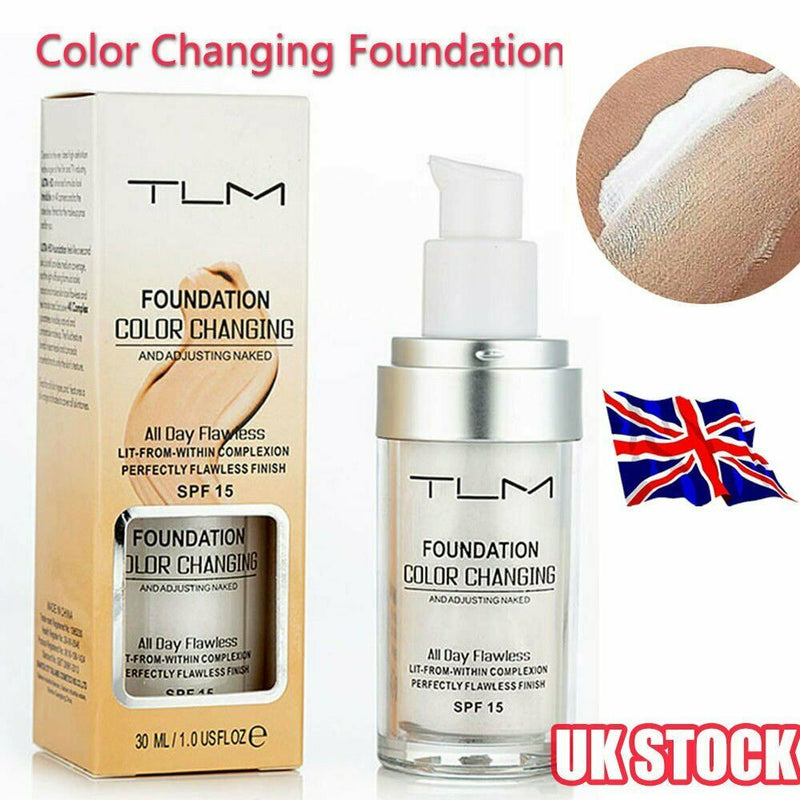 TLM Flawless Color Changing Foundation 30ml