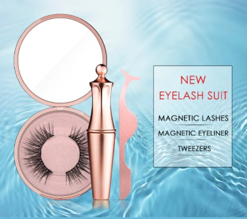 Liquid Magnetic Eyeliner and Eyelash Kit