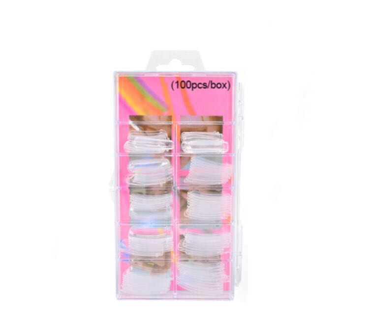 100pc Finger False Nails Set