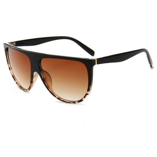 Black Flat Shadow Sunglasses for Women