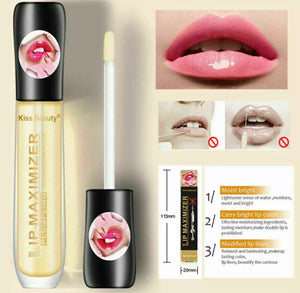 Lip Plumper Extreme Lip Gloss Maximizer Plump Volume Bigger Lips Moisturizing UK