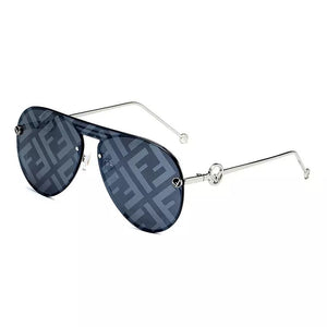Luxury Square Rimless Sunglasses for Women