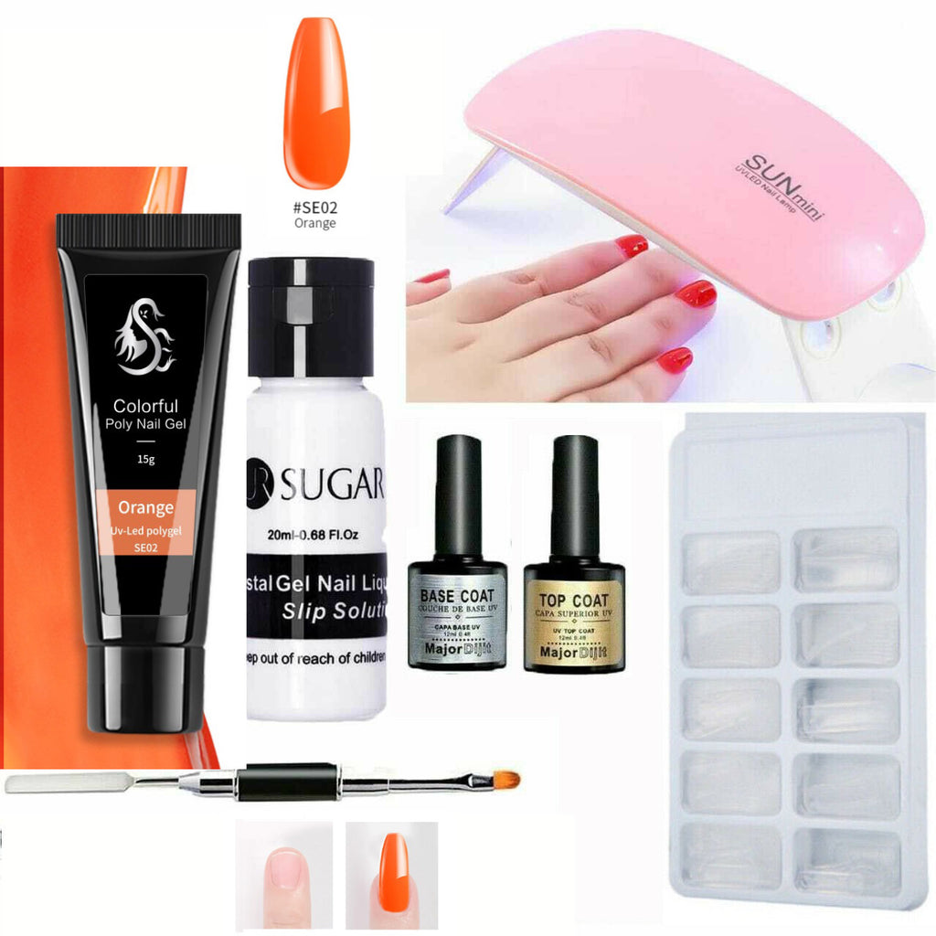 Orange polygel-shopelegance