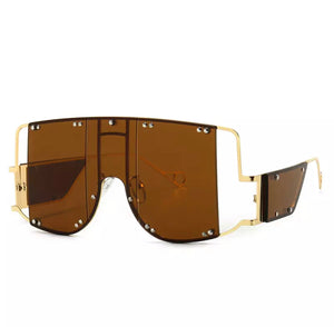 Rihana Brown Sunglasses
