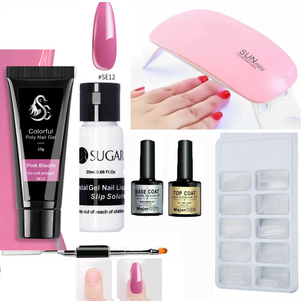 Pink Bloom polygel-shopelegance