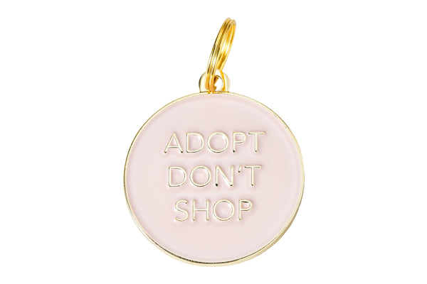 'Adopt Don't Shop' Collar Tag