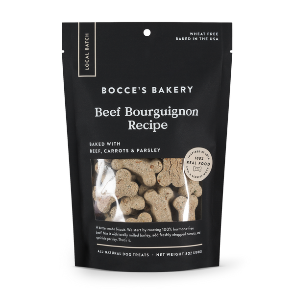 Beef Bourguignon Dog Biscuits