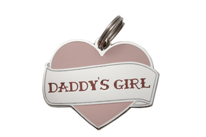'Daddy's Girl' Collar Tag