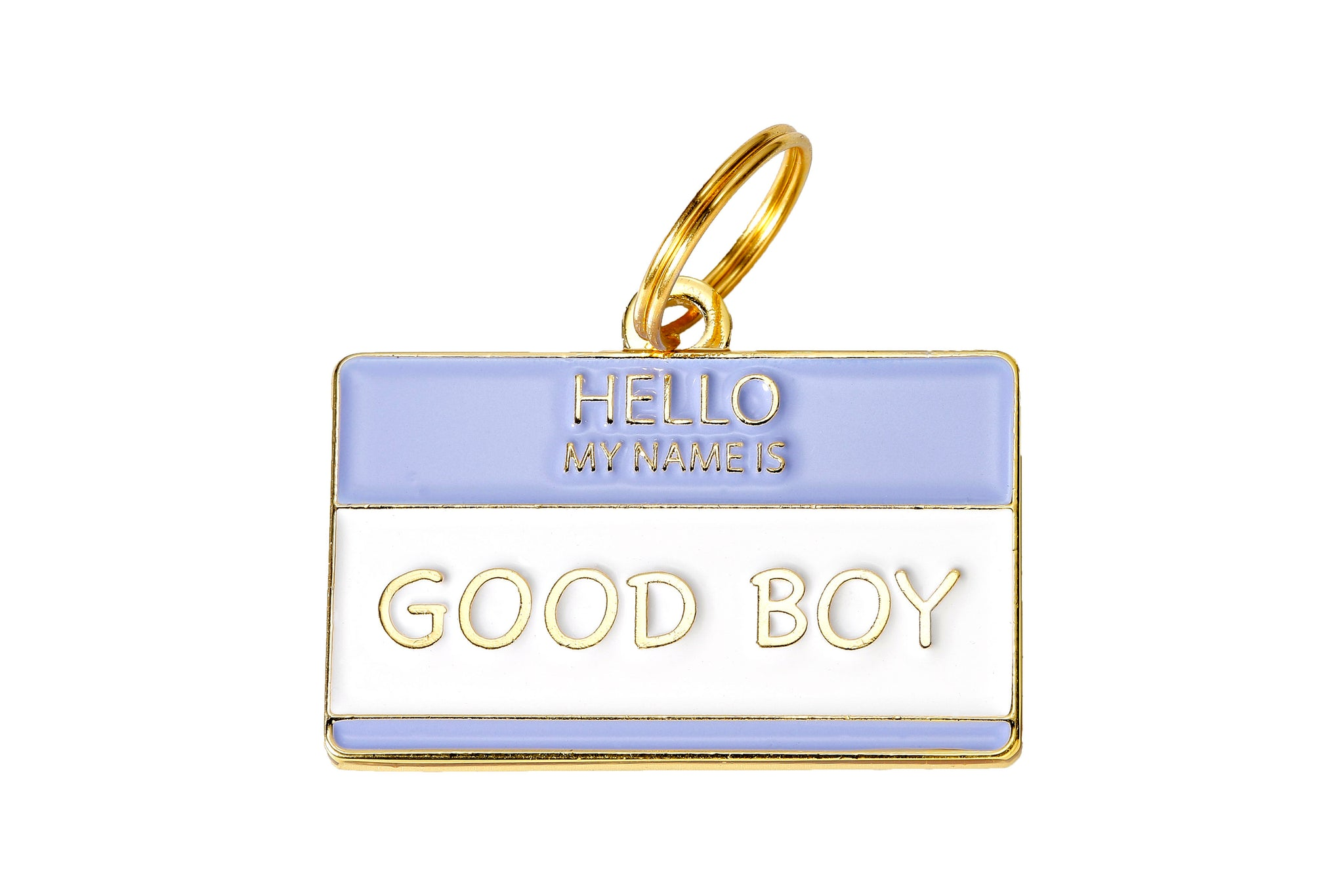 'Good Boy' Collar Tag
