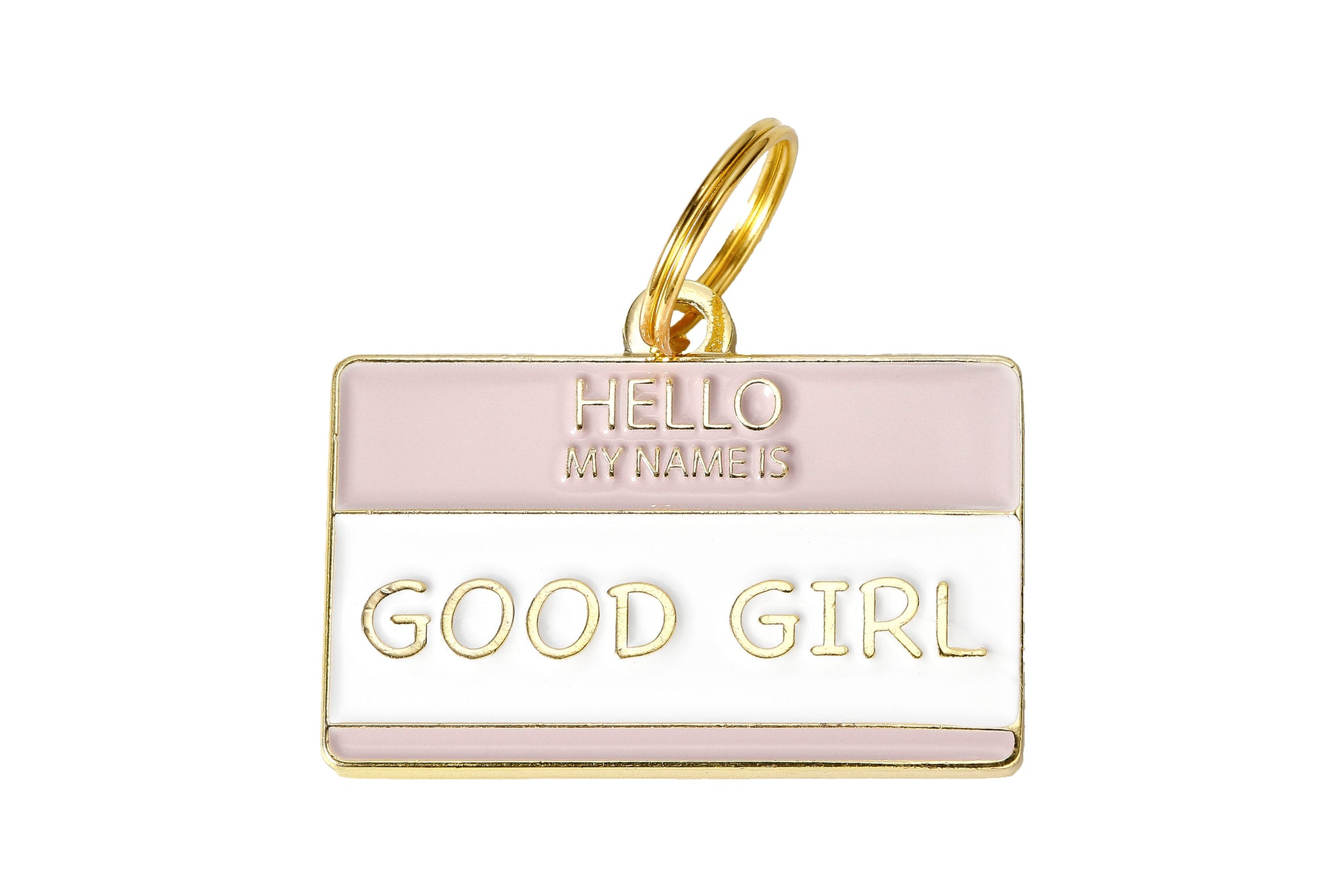 'Good Girl' Collar Tag