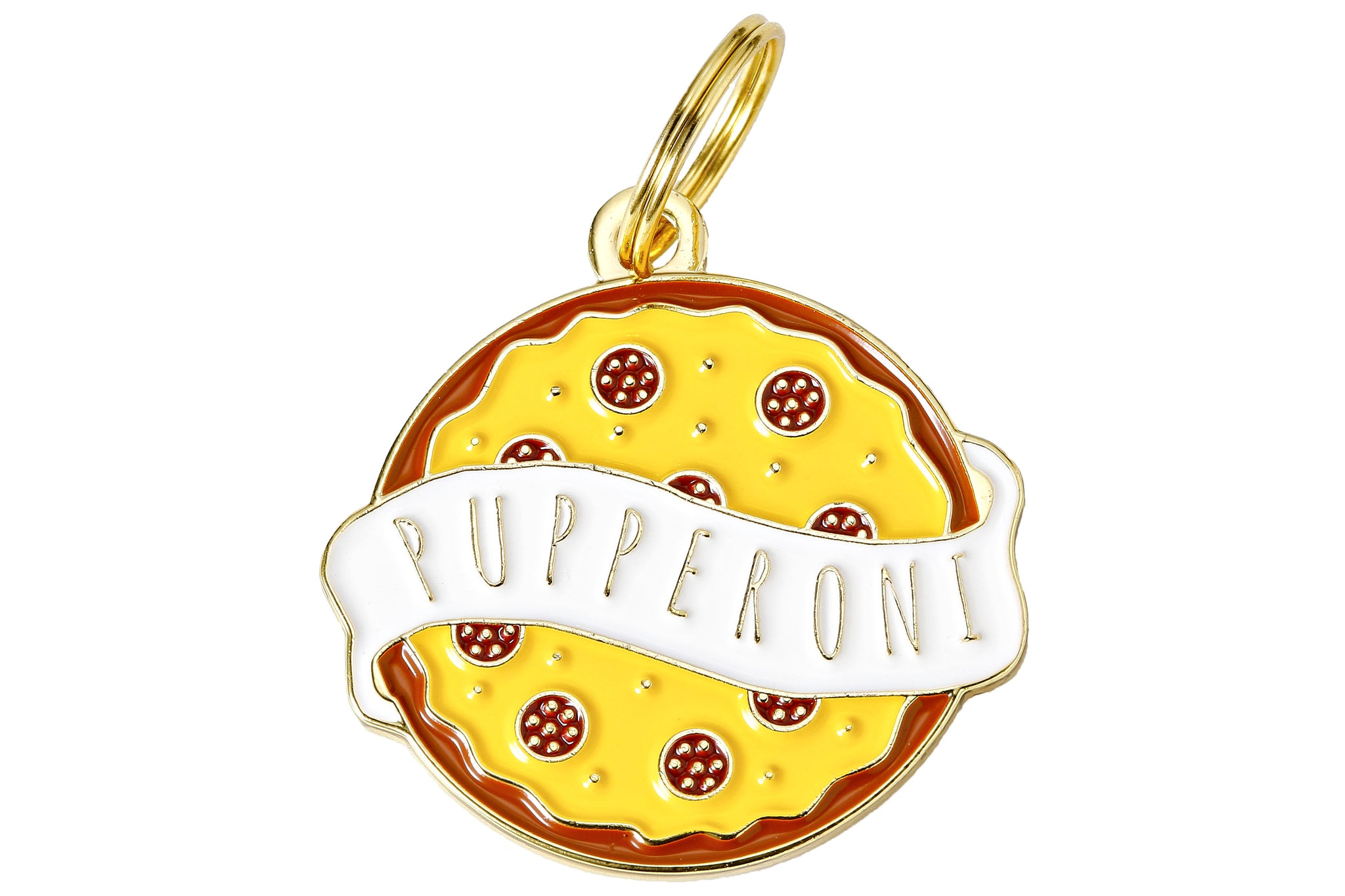 Pupperoni Collar Tag