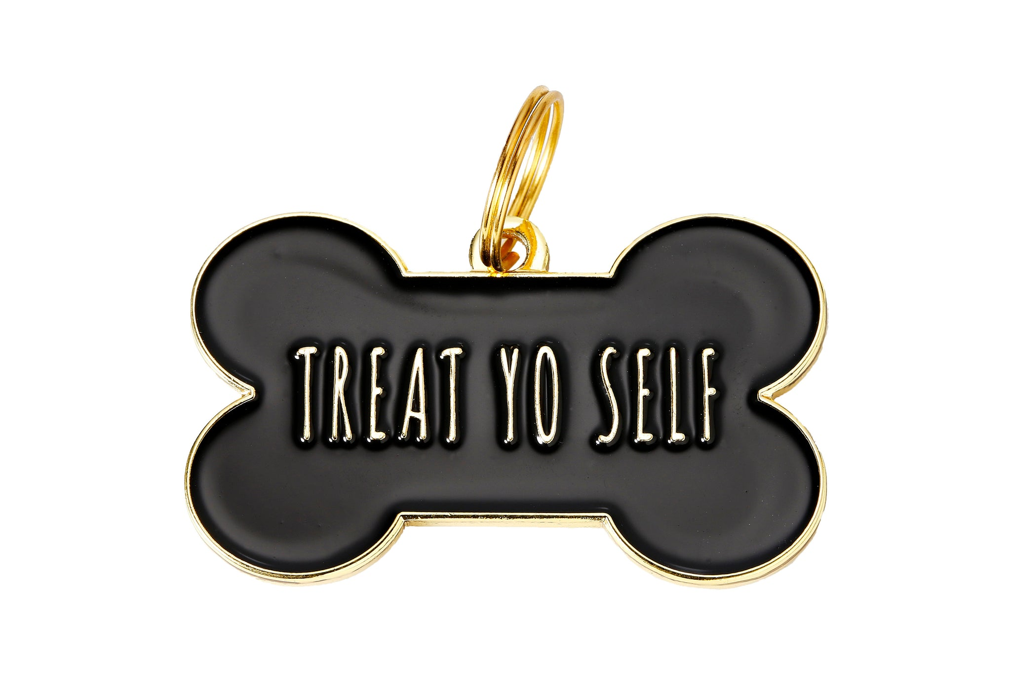 'Treat Yo Self' Collar Tag