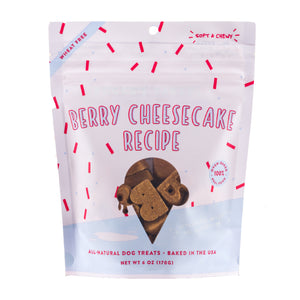 Berry Cheesecake Soft & Chewy Treats