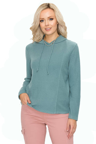 Long Sleeve Cable Knit Sweater