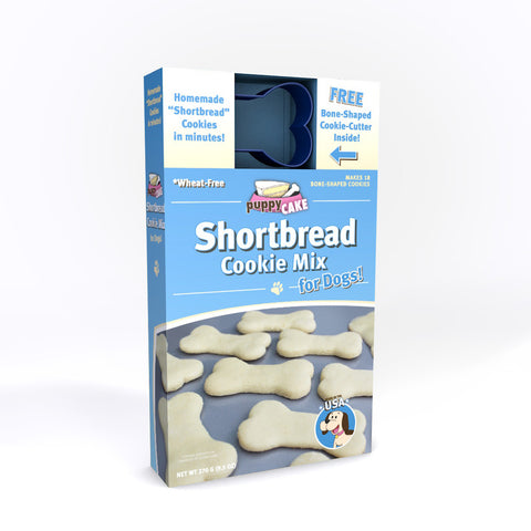 Shortbread Cookie Mix and Cookie Cutter
