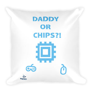 Square Pillow - DaddyOrChips