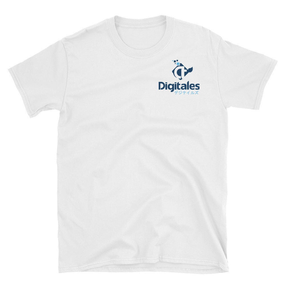 Digitales White Logo T-shirt