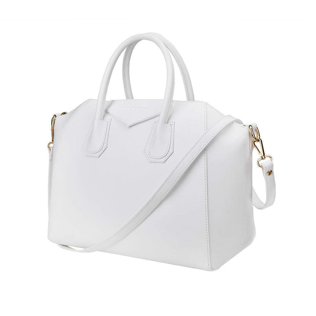 Trapèze Medium Tote Brilliant White