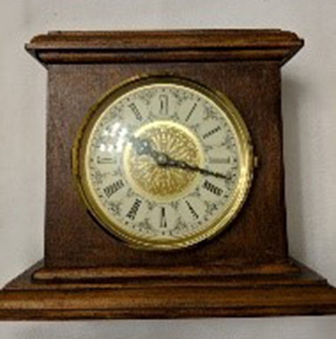 8th Grade Mantle Clock