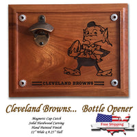 Cleveland Browns Beer Opener