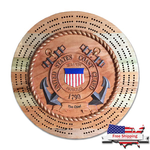 Military Inspired Cribbage Board