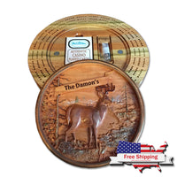 """Deer in the Woods"" Cribbage Board"