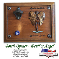Devil or Angel Beer Opener