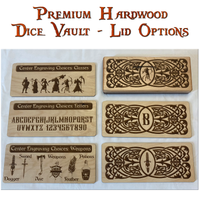 Personalized Dice Vaults