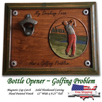 Golf Problems Beer Opener