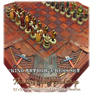 King Arthurs Chess Set
