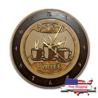 Coffee First Clock