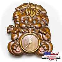 The Little Lion ~ Wall Clock
